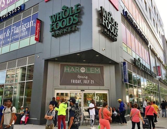 The new Whole Foods located on 125th in Harlem, New York. (Photo: Whole Foods)