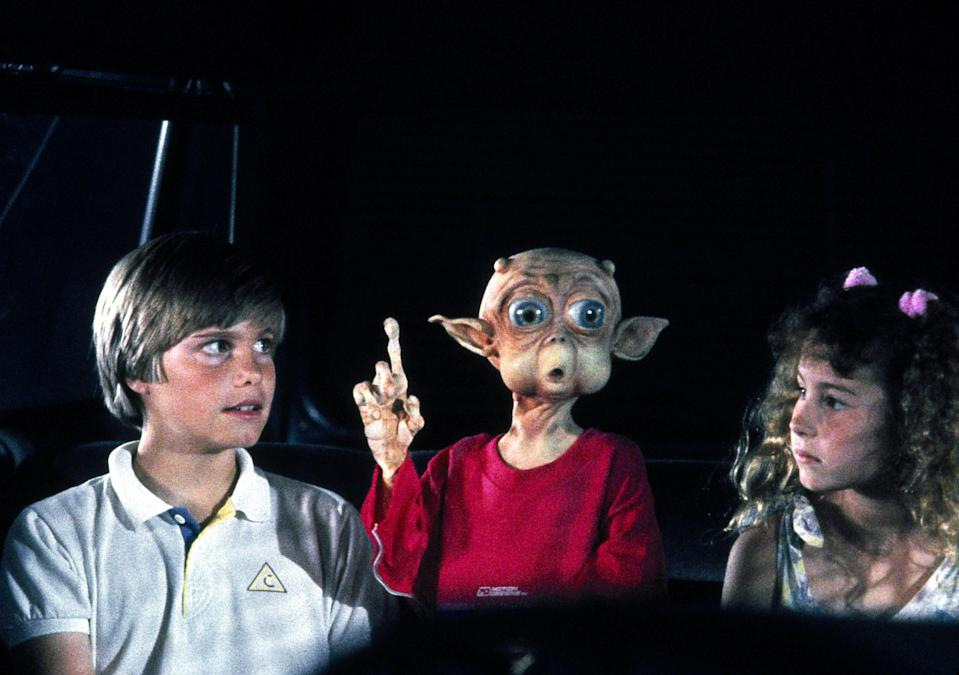 <em>Mac and Me</em> stars Jade Calegory, Mac and Lauren Stanley. (Photo: Orion/courtesy Everett Collection)