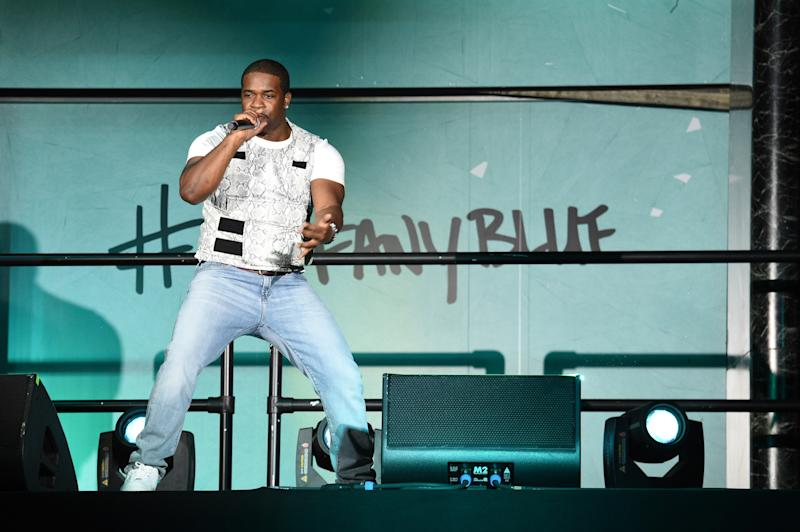 A$AP Ferg performs onstage during the Tiffany & Co. Paper Flowers event and Believe In Dreams campaign launch.