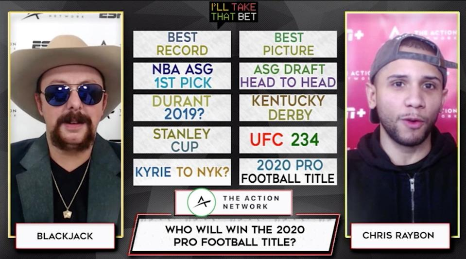 """""""I'll Take That Bet"""" is a gambling show on ESPN+ in partnership with The Action Network."""