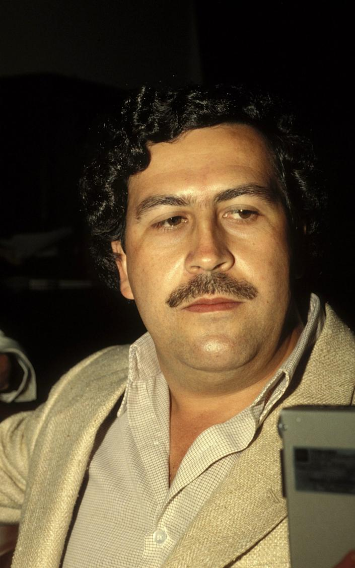 Pablo Escobar's nephew said it is not the first time he has discovered stores of cash - Eric VANDEVILLE /Getty