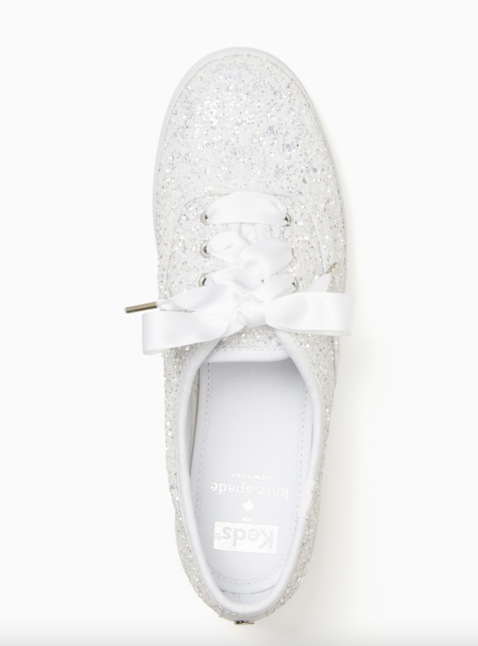 Keds x Kate Spade Glitter Sneakers (Photo via Kate Spade New York)