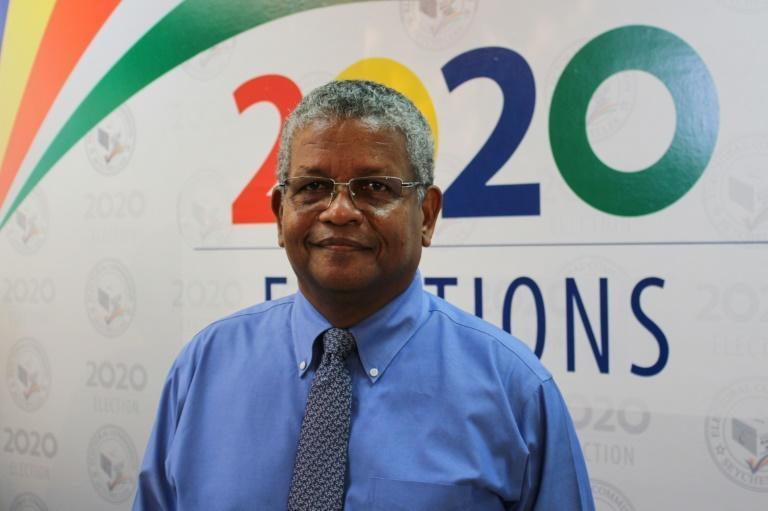 In a ceremony that marked an unprecedented handover from one political party to another, newly elected Seychelles president Wavel Ramkalawan (pictured October 25, 2020) called for unity on the 115-island Indian Ocean archipelago