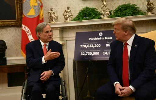 Governor Greg Abbott, an ally of US President Donald Trump, was aggressive in reopening Texas but has now called a pause after a spike in coronavirus cases in his state