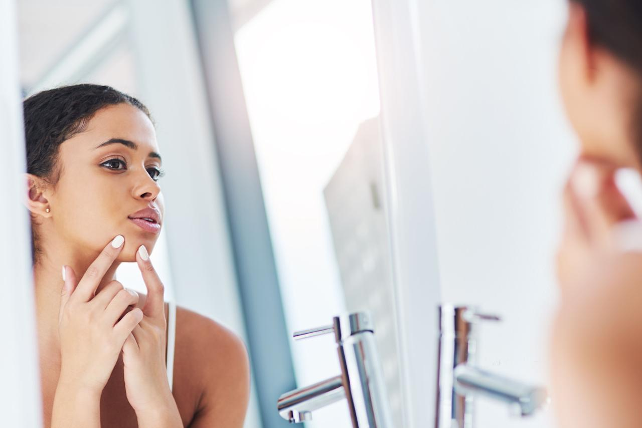 """<p>Nail biting. Skin peeling. Hair plucking. Pimple popping. These self-grooming habits can be weirdly gratifying, and many of us are guilty of succumbing to the urges. I mean, it just feels <em>so </em>good. So good, in fact, that it can become excessive and lead to bleeding, sores, and scarring. According to celebrity esthetician and founder of her eponymous skincare collection Renée Rouleau, """"You have to realize that, although you can't always control breakouts from appearing, you <em>can</em> control what happens when you get the breakout. <strong>The truth of the matter is, a blemish usually lasts five to seven days. But the redness or dark scar [that results] from picking at the blemish can linger for weeks—even months.""""</strong></p><p>Whether it's an absentminded habit or a full-blown case of excoriation disorder, it's important that your skin picking is practiced with extreme caution. """"There is a life cycle to a blemish and when you interfere with this process (by picking at the wrong time or using a super drying spot treatment), you're actually making it last so much longer,"""" says Rouleau. """"Work in sync with the various stages of the blemish so that you're an ally and not an enemy.""""<strong> Wait until your pimple has a head to extract and always<em> </em>use proper, sanitized tools. </strong>Shop our selection of the most satisfying, safe, and effective ones, below.<br></p>"""