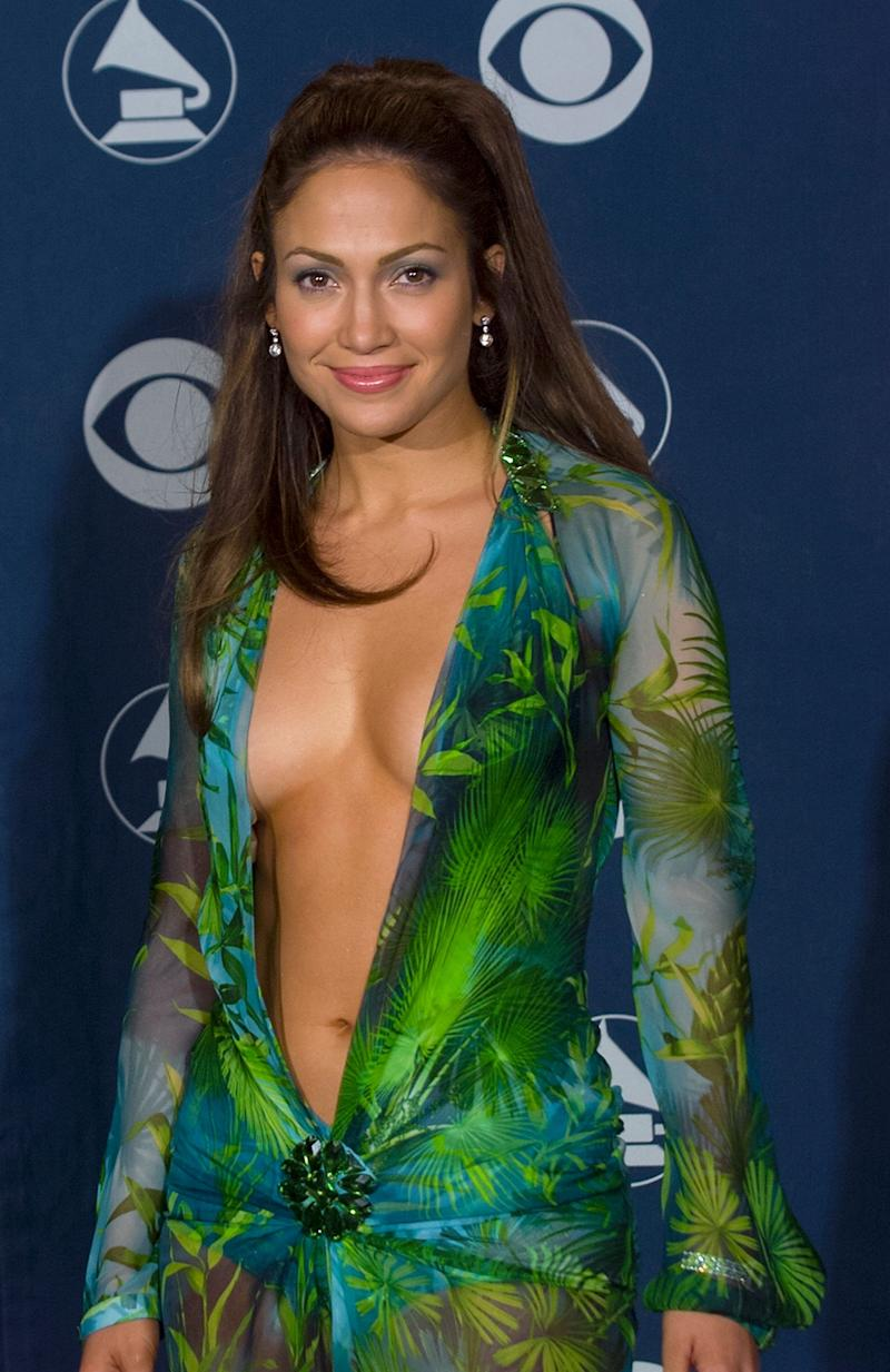 "And while we&rsquo;re on the subject of sartorial choices at the Grammys - behold! <i>That </i>dress.<br /><br />An outfit so famous that Google literally invented their ""Images"" tab because so many people wanted to see what J-Lo was wearing on the red carpet.<br /><br />Waiting For Tonight may have lost out to Cher&rsquo;s Believe in the Best Dance Recording category that night, but who could deny that Jenny From The Block was the true winner?"