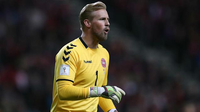 The Premier League-winning goalkeeper says the Parken Stadium's ground was as bad as some of the pitches he played on whilst at Bury