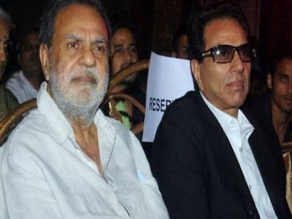 Ajit Deol and Dharmendra Deol (Image source: Twitter)
