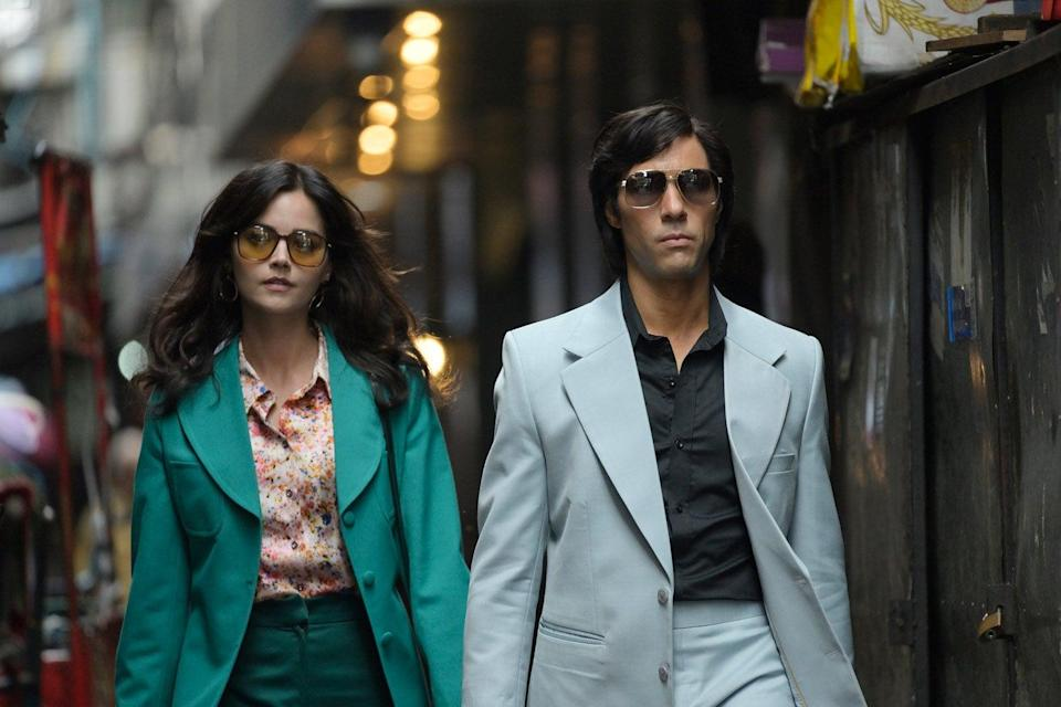 <p>Jenna Coleman and Tahar Rahim lead this insane story of murder on the Hippy Trail</p>BBC
