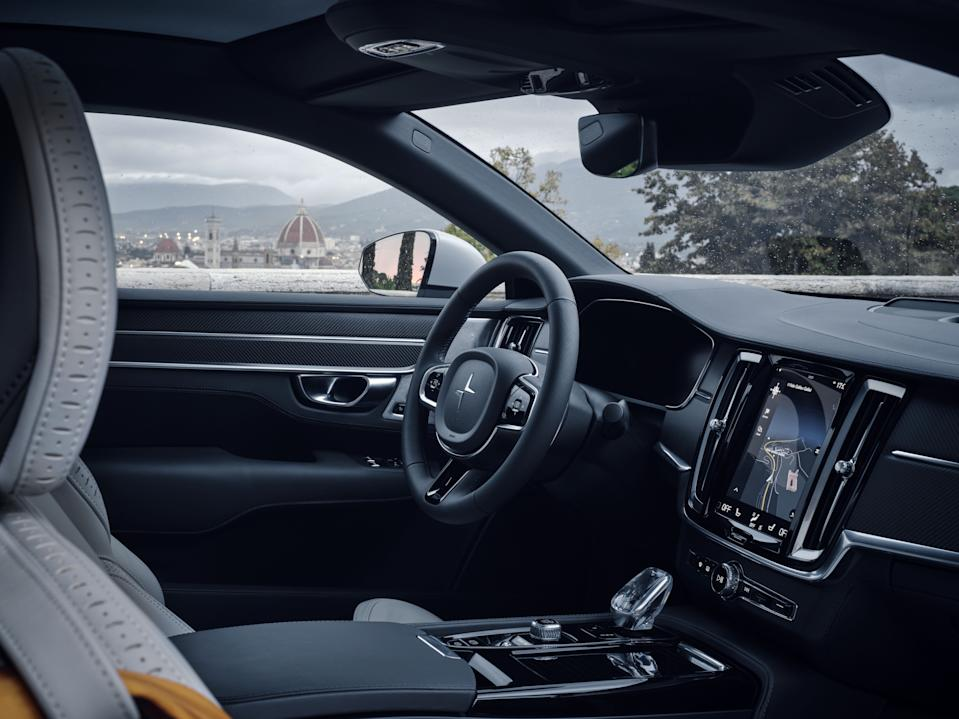 The interior is as sumptuous and tasteful as you'd expect from a sister brand of VolvoPolestar