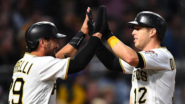 The Pittsburgh Pirates – fuelled by eight runs in the first four innings – won the MLB scoring marathon 11-9 on Wednesday.