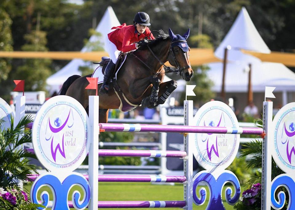 Jessica Springsteen; courtesy of US Equestrian (USEF)