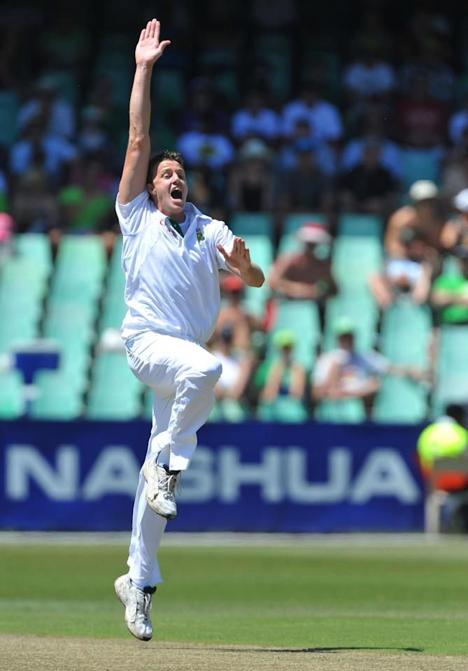 "Morne Morkel, 6'5"": Albie's younger brother uses his height to generate huge amounts of pace and bounce. Along with Dale Steyn, Morkel, a gangly right-arm fast bowler, forms one of the best new-ball pairs in the contemporary cricket, especially in the longest format. Morkel has also turned in superlative performances with the ball for Rajasthan Royals and Delhi Daredevils in the IPL, a tournament he has said helped sharpen his bowling skills. The 27-year-old also plays for Yorkshire in English county cricket and for the Titans back home."
