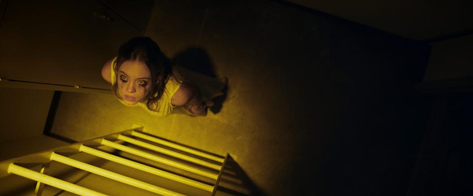 """""""Nocturne"""" stars Sydney Sweeney as a gifted pianist at a prestigious music academy who, after finding a deceased classmate's notebook, begins to overtake her talented older sister."""