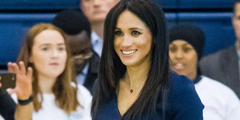 Meghan Markle and Prince Harry spotted taking public transit to royal event