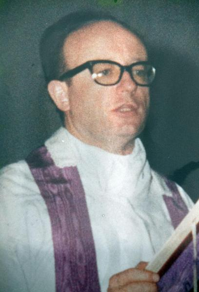 This undated photo released by the San Patricio church, shows Father Alfredo Kelly in Buenos Aires, Argentina. In what became known as the San Patricio Massacre, gunmen believed to be from a military unit stormed into the church after midnight on July 4, 1976, and shot to death three priests including Kelly and two seminarians - the bloodiest single act of violence against the Roman Catholic Church during Argentina's brutal dictatorship. Now Catholic officials in Argentina are working to have them declared saints. And the man who promoted their cause as archbishop has become Pope Francis. (AP Photo/San Patricio Church)