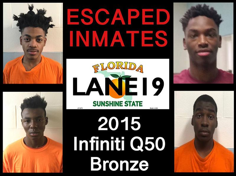 Four Inmates Allegedly Faked Fight to Escape Florida Juvenile Detention Center
