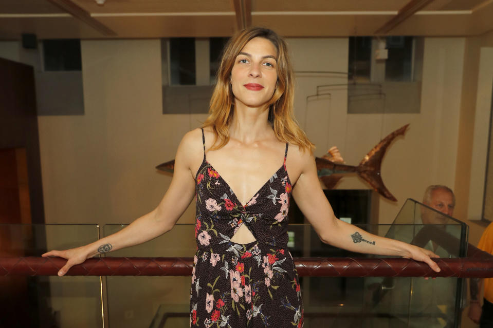 """LONDON, ENGLAND - JUNE 27: Natalia Tena attends the press night after party for The Donmar's production of """"Europe"""" at The h Club on June 27, 2019 in London, England. (Photo by David M. Benett/Dave Benett/Getty Images)"""