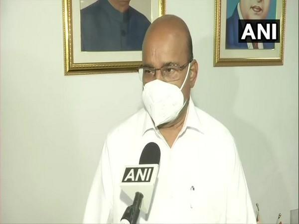 Thawarchand Gehlot speaking to ANI in New Delhi on Tuesday.