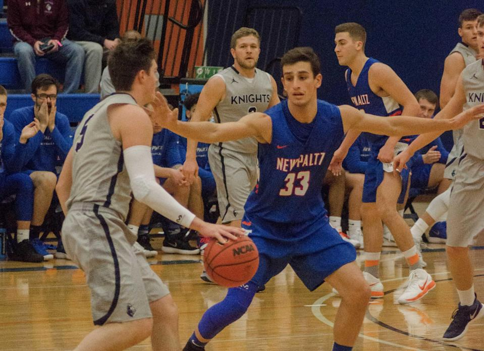 Nick Paquette is starting for Division III New Paltz this season despite his leukemia diagnosis last year. (Marissa Contelmo)