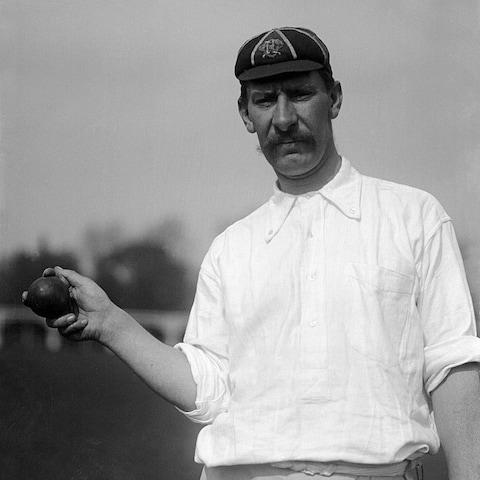 Albert Trott turning out for Middlesex in 1905 - Credit: Wikipedia
