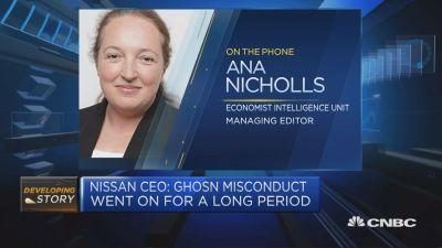 Ana Nicholls, managing editor for industry briefing, at the Economist Intelligence Unit, discusses the impact of the Carlos Ghosn scandal.