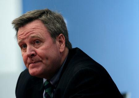 FILE PHOTO: Scott Blackmun, chief executive of the U.S. Olympic Committee, attends the Reuters Global Media Summit in New York November 30, 2010. REUTERS/Brendan McDermid/File Photo