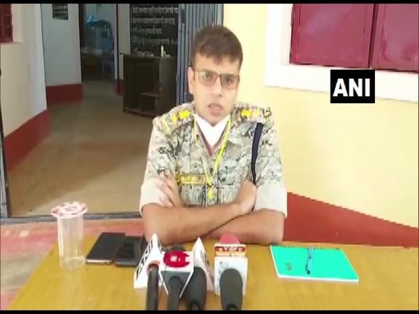 Kondagaon SP Siddharth Tiwari speaking to media on Wednesday. (Photo/ANI)