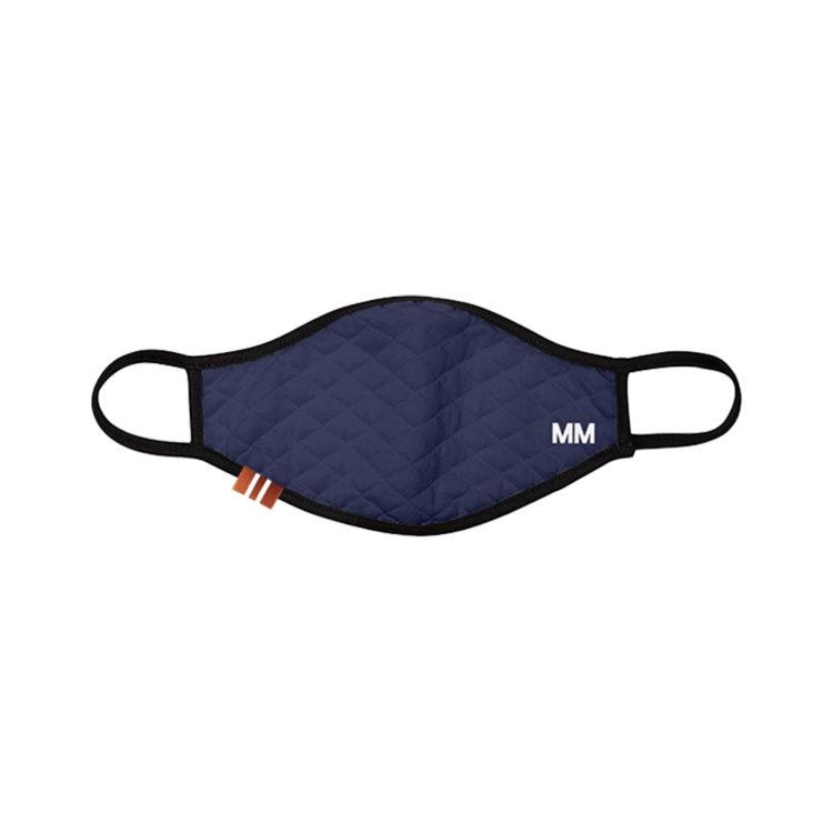 """<p><strong>Michel Men</strong></p><p>michelmen.com</p><p><strong>$40.00</strong></p><p><a href=""""https://www.michelmen.com/masks/navy-quilted-mask"""" rel=""""nofollow noopener"""" target=""""_blank"""" data-ylk=""""slk:Shop Now"""" class=""""link rapid-noclick-resp"""">Shop Now</a></p><p>Whitney Michel's NYC-based menswear line fosters an array of sumptuous accessories, from neckwear to bandanas. In light of the unwavering demand for face masks, the designer has bred refined styles, hand-made in cotton and silk. They're purchasable in single orders or in sets of three or four, and 10 percent of proceeds from each mask sale will go to Dream Defenders.</p>"""