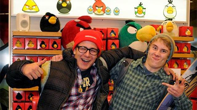 Angry Birds Opens First Store