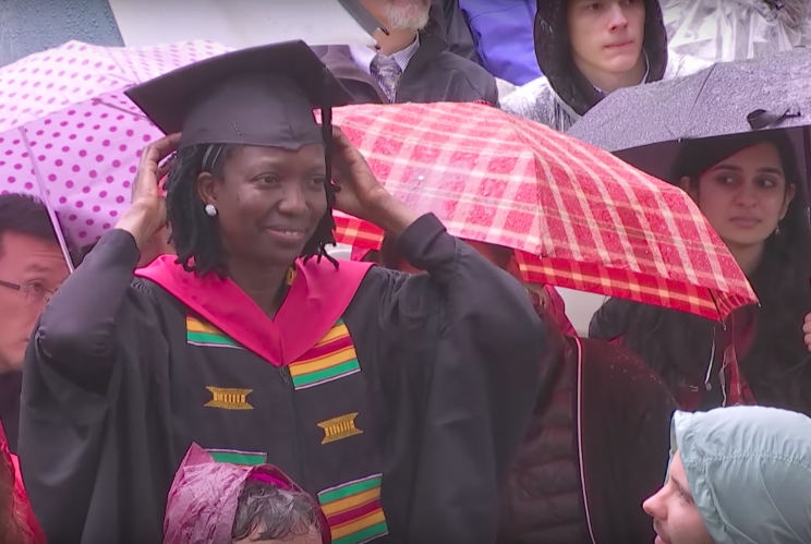 Agnes Igoye (Source: Harvard University / YouTube)