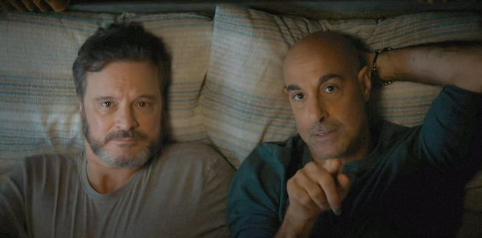 """<p>Longtime friends and collaborators Stanley Tucci and Colin Firth play partners taking a, possibly, final trip together to see friends and family as one loses the other to early-onset dementia. A story about love and loss that's first and foremost human, it represents an emerging movement in cinema to tell a wider array of stories centered on queer characters. (Not everyone did or has to die of AIDS!) </p> <p><a href=""""https://www.amazon.com/Supernova-Colin-Firth/dp/B08V4SHJVW/ref=sr_1_1?crid=37NK78FNJ1OPT&dchild=1&keywords=supernova&qid=1614369512&s=instant-video&sprefix=supernova%2Cinstant-video%2C191&sr=1-1"""" rel=""""nofollow noopener"""" target=""""_blank"""" data-ylk=""""slk:Available to rent on Amazon Prime"""" class=""""link rapid-noclick-resp""""><em>Available to rent on Amazon Prime</em></a></p>"""