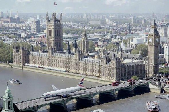Personalised BA ad can show plane taxiing along your road