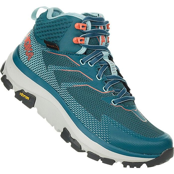 "<h2>Hoka One One Sky Toa Shoe<br></h2><br><strong>The Most Boosted</strong><br>Not only will the turquoise tones of Hoka's top-reviewed hiking boots give you an endorphin boost — they'll also put some pep in your step thanks to a comfort-driven construction that supports your skeleton, even if it's been subject to some wear and tear over the years (like the reviewer below). <br><br><strong>The Hype: </strong>4.4 out of 5 stars; 20 reviews on <a href=""https://www.moosejaw.com/"" rel=""nofollow noopener"" target=""_blank"" data-ylk=""slk:Moosejaw"" class=""link rapid-noclick-resp"">Moosejaw</a><br><br><strong>What They're Saying</strong>: ""I can't even express how much I love these boots. They're the most comfortable things I've ever worn on my feet. I have had back surgery as well as knee surgery and often hike 10+ miles over very rocky mountains. Needless to say, my joints always hurt. I went hiking in these last weekend and they were instantly comfortable and required no breaking in - no hot spots. Also NO JOINT PAIN! I felt like I was a kid again, jumping around and feeling nothing but fluffy cushioning. The only pain was muscle pain! These boots will allow me to add years to my hiking!"" <em>— Kalamity, </em><a href=""https://www.moosejaw.com/"" rel=""nofollow noopener"" target=""_blank"" data-ylk=""slk:Moosejaw.com"" class=""link rapid-noclick-resp""><em>Moosejaw.com</em></a><em> reviewer</em><br><br><strong>Hoka One One</strong> Sky Toa Shoe, $, available at <a href=""https://go.skimresources.com/?id=30283X879131&url=https%3A%2F%2Fwww.moosejaw.com%2Fproduct%2Fhoka-one-one-women-s-sky-toa-shoe_10414378"" rel=""nofollow noopener"" target=""_blank"" data-ylk=""slk:Moosejaw"" class=""link rapid-noclick-resp"">Moosejaw</a>"