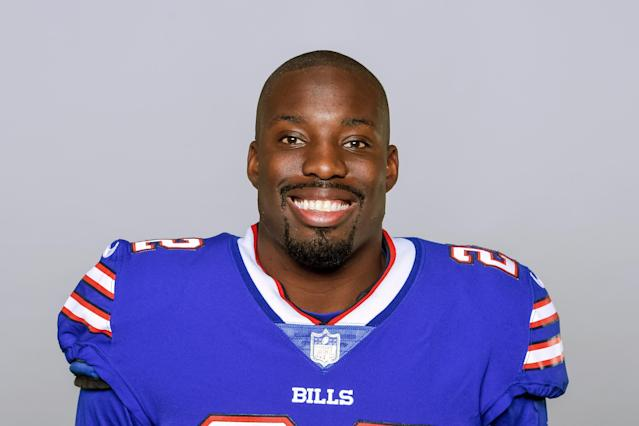 "Vontae Davis retired at halftime of Sunday's Bills-Chargers game, saying, he realized ""Football is not for me"" anymore in the second quarter. (AP)"