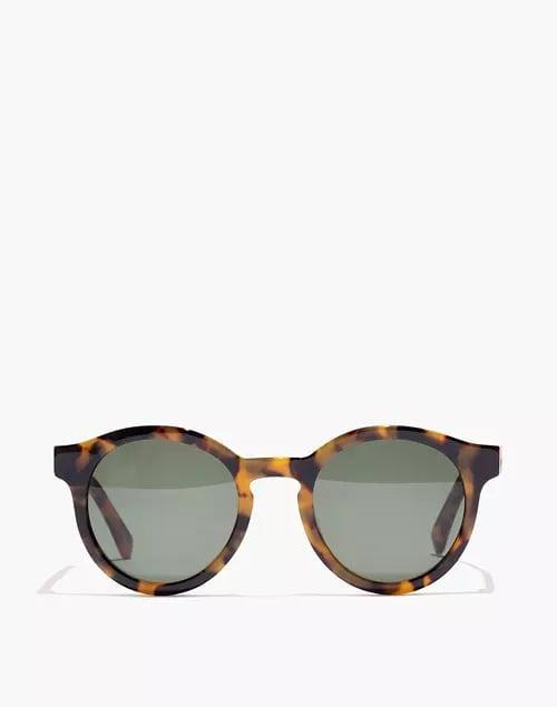 <p>We're smiling just looking at these <span>Madewell Tortoise Everett Sunglasses</span> ($50, originally $65).</p>