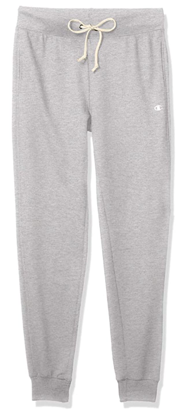 Champion Women's French Terry Jogger in Oxford Grey Heather