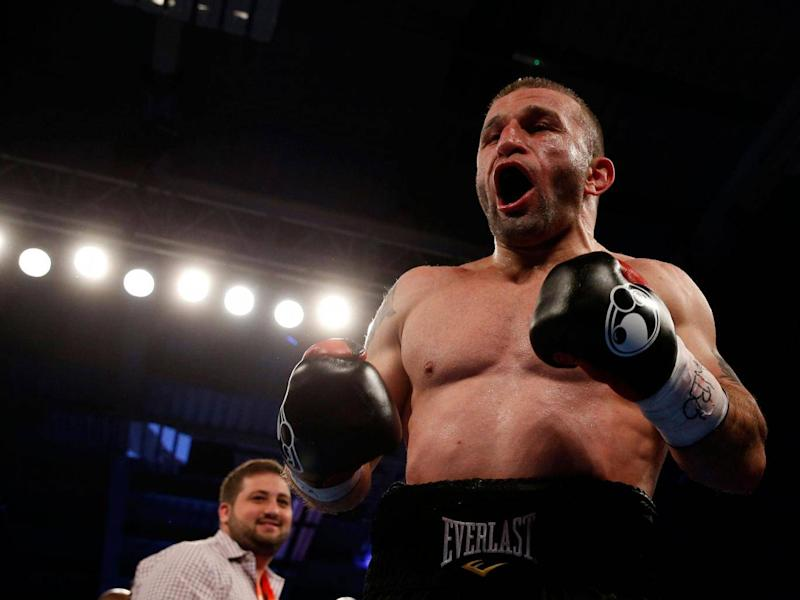 Khurtsidze's fighting style has been compared to that of a pit-bull ( Reuters / Andrew Couldridge )