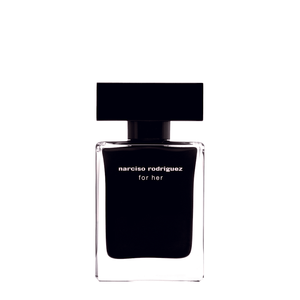 """<p><strong>Katy Harrington, Managing Editor</strong></p><p><strong>The perfume: Narciso Rodriguez</strong> For Her Eau de Toilette, £41 for 30ml, available at <a href=""""https://www.feelunique.com/p/Narciso-Rodriguez-for-her-eau-de-toilette--30ml"""" rel=""""nofollow noopener"""" target=""""_blank"""" data-ylk=""""slk:Feelunique"""" class=""""link rapid-noclick-resp"""">Feelunique</a>.</p><p><strong>Why it's my signature scent:</strong> I really dislike a lot of women's fragrances, mainly because most of the ones I can afford smell like a blend of highlighter pens, your granny's potpourri collection and Emma Bunton's lip gloss. I want something powerful, laid-back and musky, like Penélope Cruz when she's just woken up from a nap, and this hits the spot. Also, it's 'affordable', by which I mean double the price of a bottle of Britney's Intimate Fantasy and a third of the price of Tom Ford's Noir Pour Femme.</p><br><br><strong>Narciso Rodriguez</strong> For Her Eau de Toilette 30ml, $34.89, available at <a href=""""https://www.feelunique.com/p/Narciso-Rodriguez-for-her-eau-de-toilette--30ml"""" rel=""""nofollow noopener"""" target=""""_blank"""" data-ylk=""""slk:FeelUnique"""" class=""""link rapid-noclick-resp"""">FeelUnique</a>"""