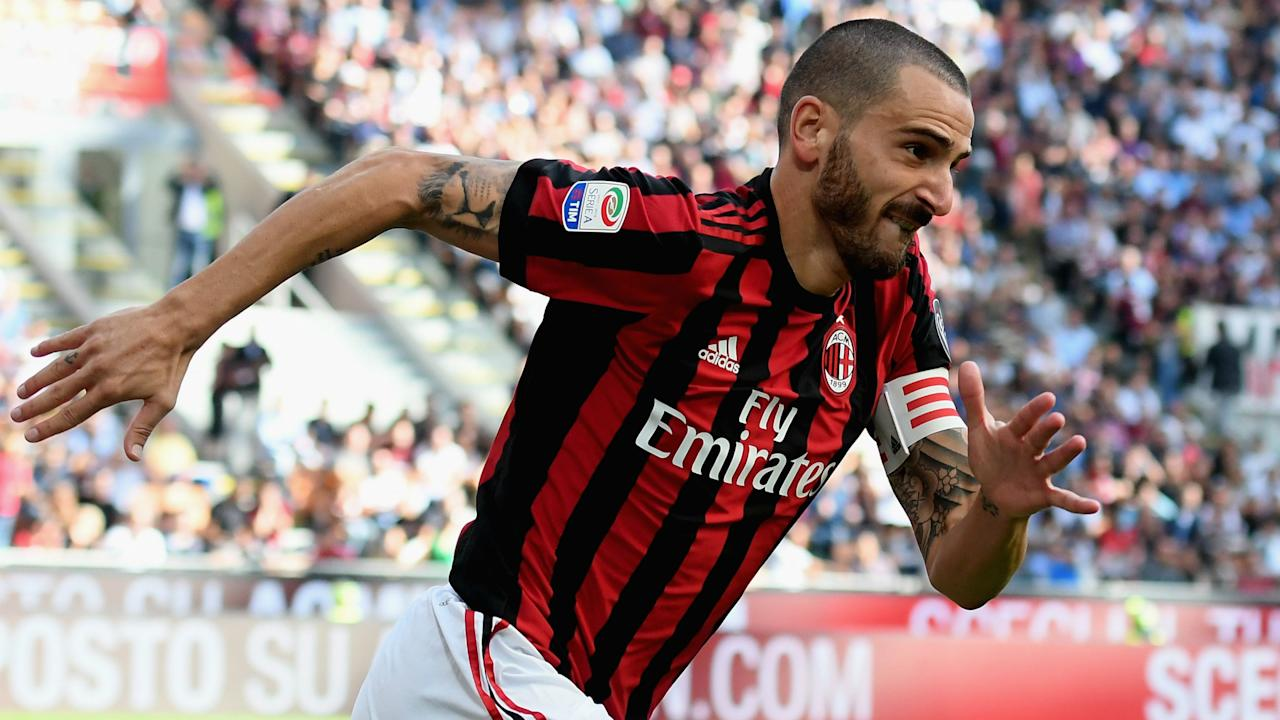 The Italy international did not swap Juventus for AC Milan because of his manager, according to the player's wife