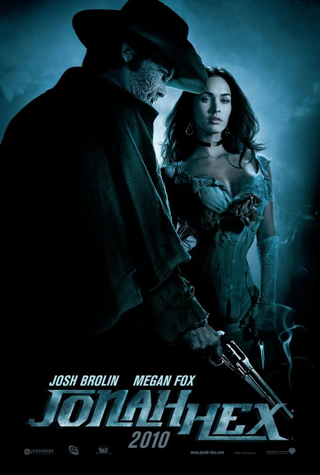 """2009 Comic-Con poster for Warner Bros. Pictures' <a href=""""http://movies.yahoo.com/movie/1810080165/info"""">Jonah Hex</a> - 2010"""