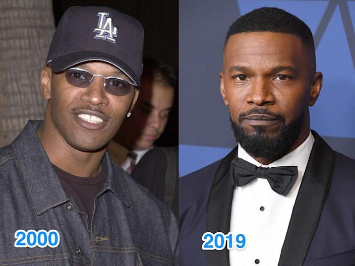 jamie foxx then and now