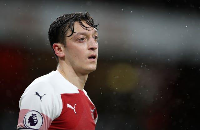 Mesut Ozil was the highest-paid player in Arsenal's history but was released from his contract in January.