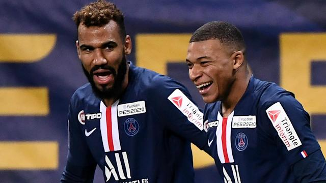Paris Saint-Germain booked a place in the quarter-finals of the Coupe de la Ligue with a 4-1 win over Le Mans on Wednesday.
