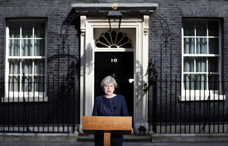 Theresa May general election
