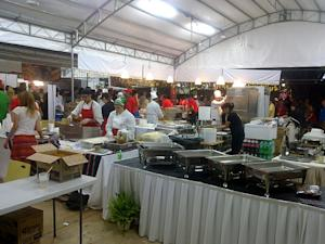 Mass F1 catering