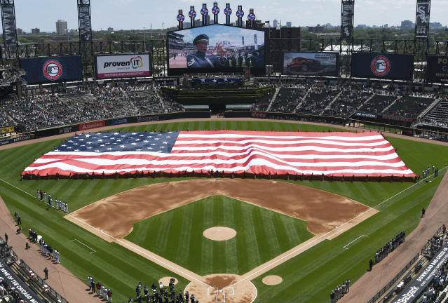 Could Fourth of July be opening day for MLB? (Photo by David Banks/Getty Images)