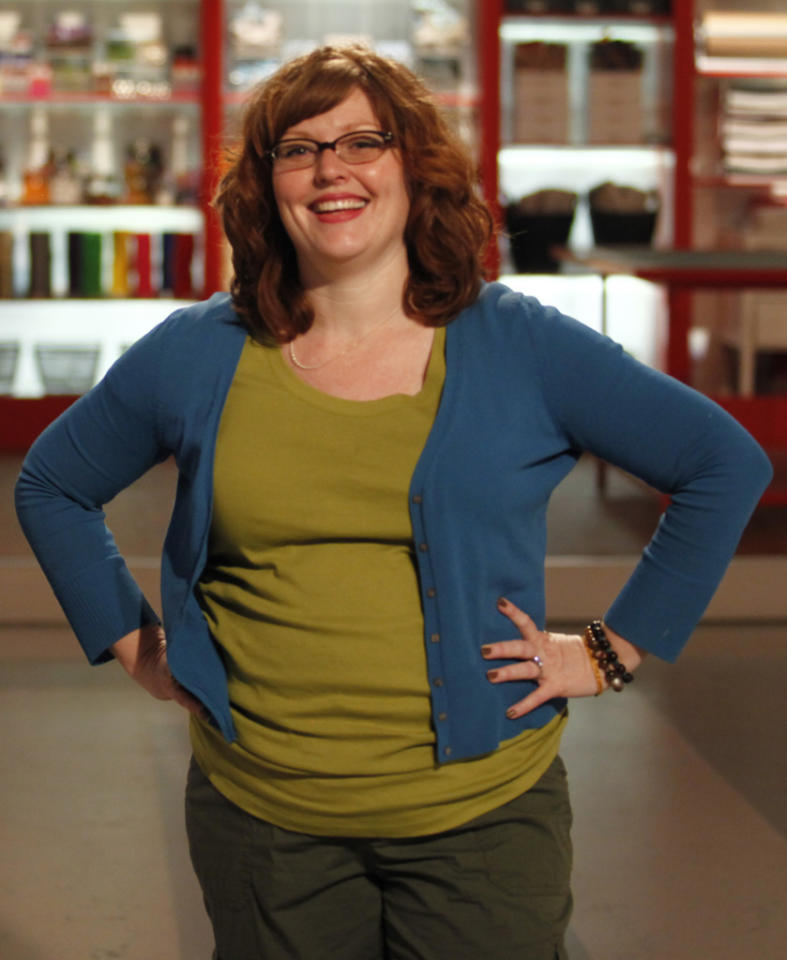 "Contestant Cheryl Burchett is featured in the series premiere of in ""Craft Wars."""
