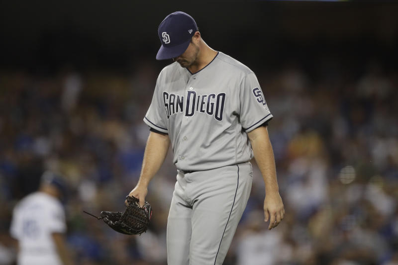 Padres pitcher Jacob Nix tased during alleged dog-door break