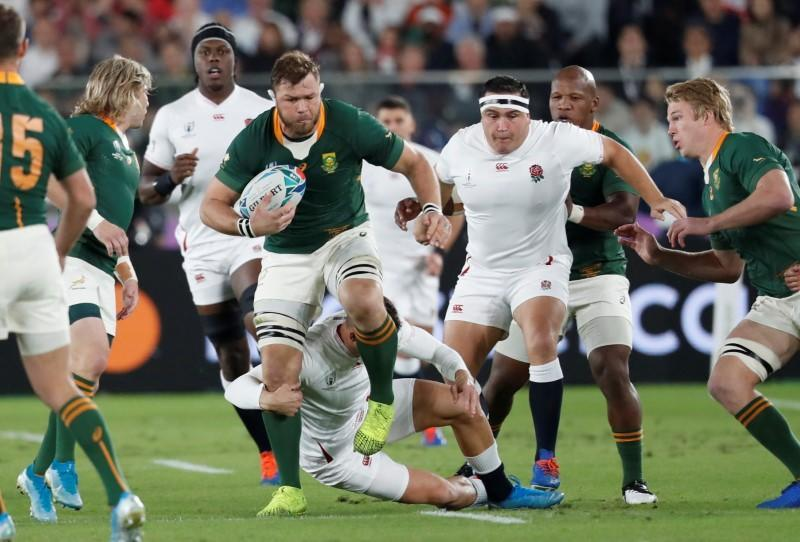 FILE PHOTO: Rugby World Cup - Final - England v South Africa